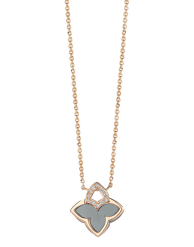 Coliere Tirisi Jewelry Seoul Flower Due TN2117HM-P