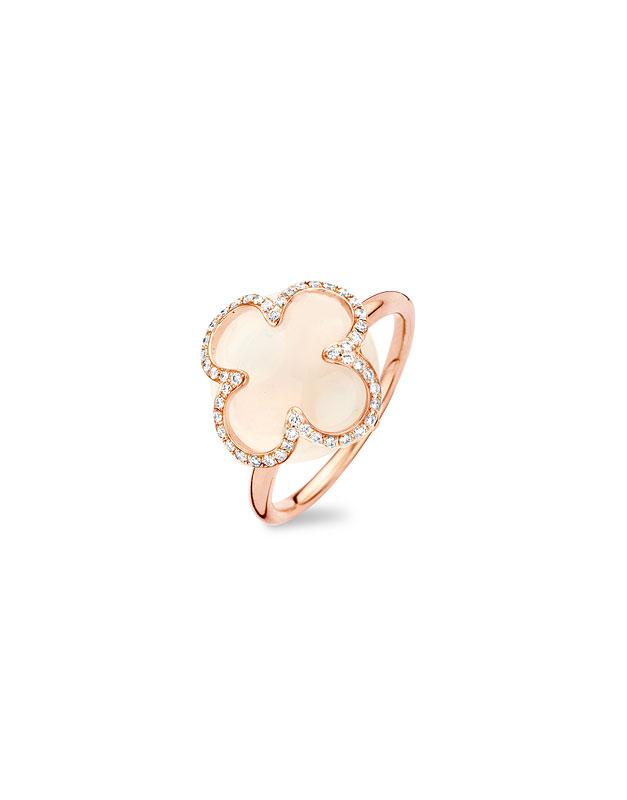 Inele Tirisi Jewelry Seoul Flower Due TR1087WQ-P