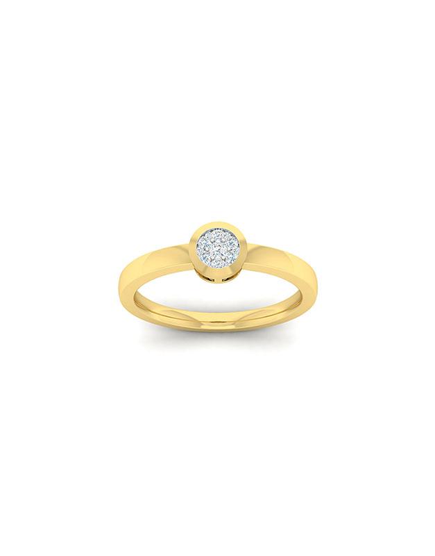 Inele de logodna Bijuterie Aur EU06561RF0015-Y