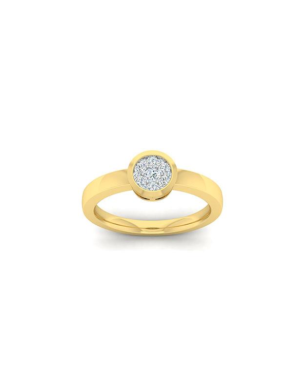 Inele de logodna Bijuterie Aur EU06561RF0033-Y