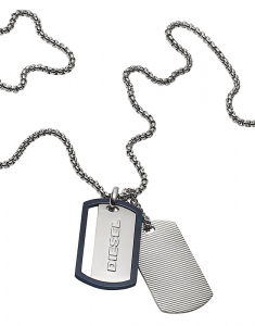 Diesel Double Dog Tag DX1197040