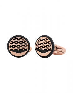 Police Men Cufflinks PJ.26469CSR/02
