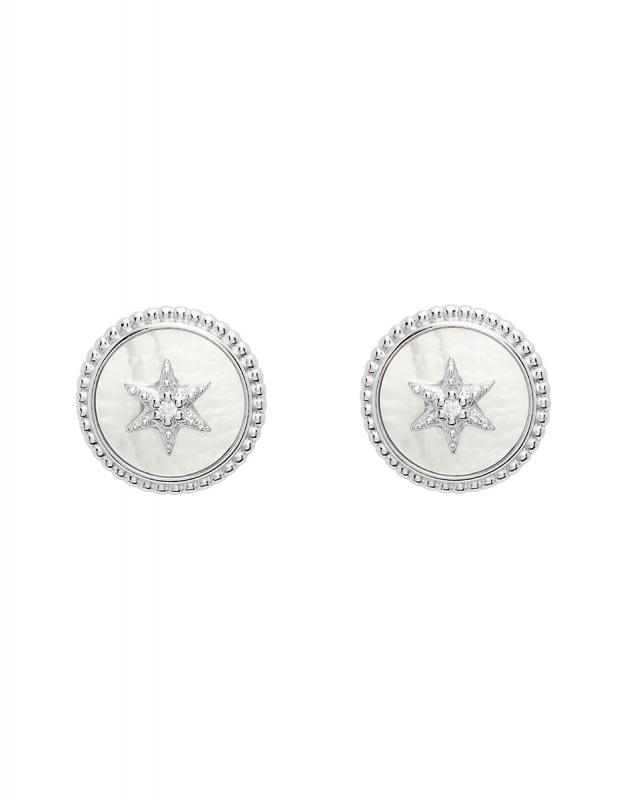 Cercei Fossil Sterling Silver JFS00500040