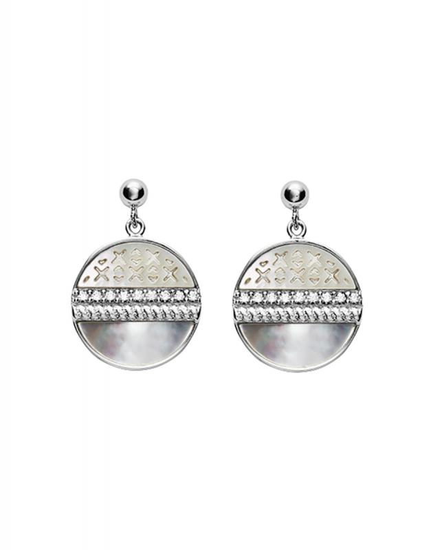 Cercei Fossil Sterling Silver JFS00515040