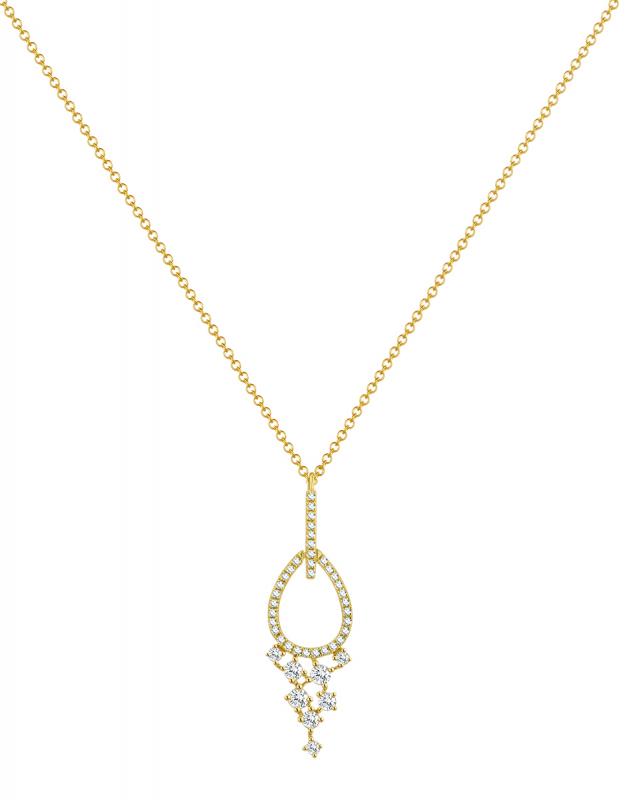 Coliere Bijuterii Aur Trendy SN29969-Y