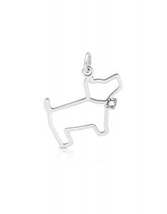 Bijuterii Argint Animals KC 989.021-ST-RH-W