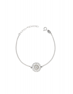 Bijuterii argint Trendy 30147AG-RH-C