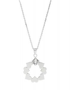 Bijuterii argint Trendy 29993AG-RH-C