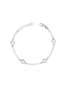 Bijuterii argint Trendy 27294AG-RH-C