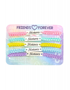 Claire`s Novelty Jewelry Best Friends Set Bratari 38313