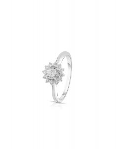 Bijuterie Aur Engagement KS3677D-50-W-I