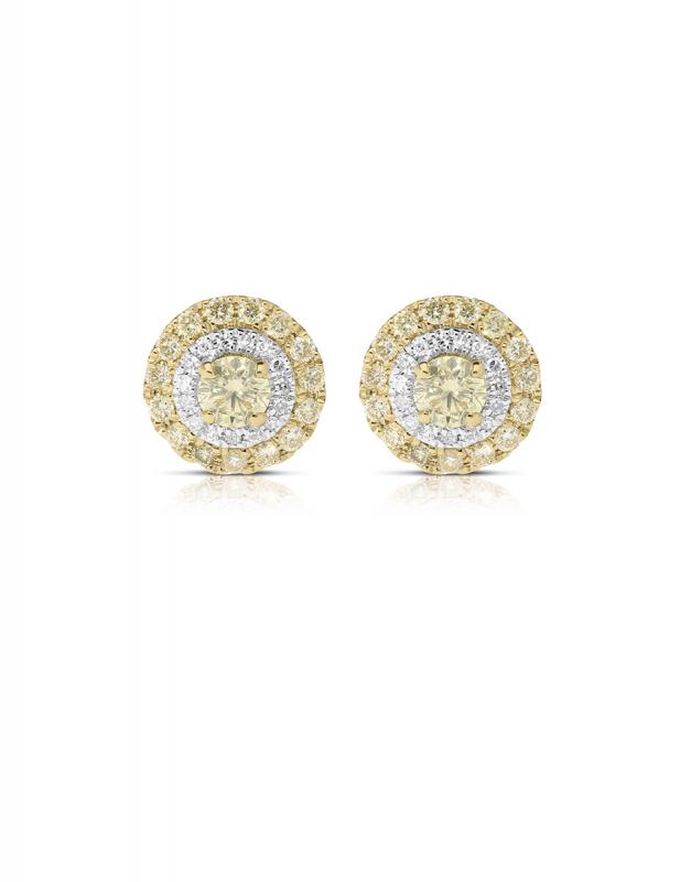 Cercei Vida Colored Diamonds 11670W-YD8YT