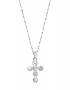 Bijuterie Argint Faith YE9080-CH-W