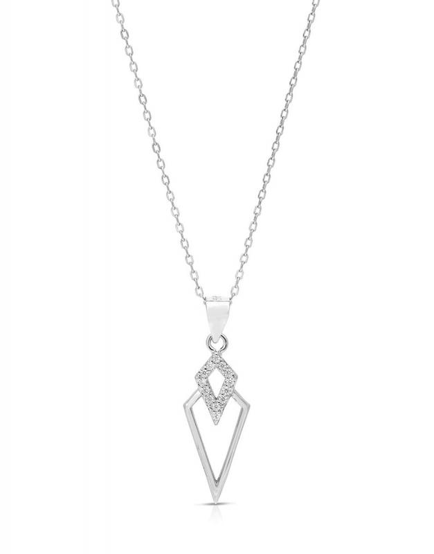 Coliere Bijuterie Argint Fashion GS9239-CH-W