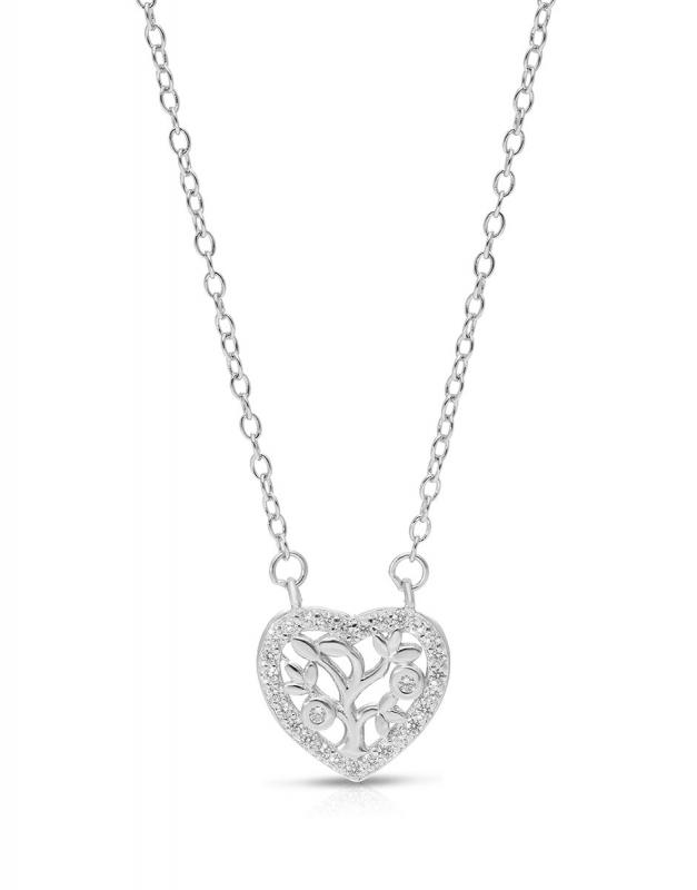 Coliere Bijuterie Argint Love GS9715-NL-W