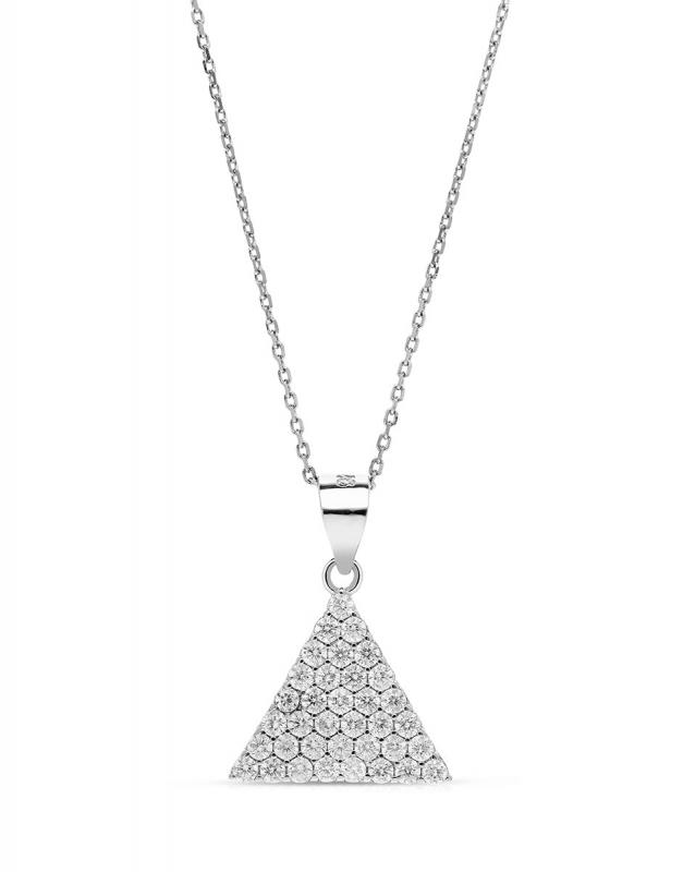 Coliere Bijuterie Argint Shapes GS8236-CH-W