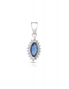 Bijuterie Argint Colour Stones E614380-PD-DBLW