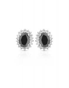 Bijuterie Argint Colour Stones E613621-EG-BKW
