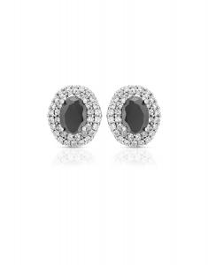 Bijuterie Argint Colour Stones E611264-EG-BKW
