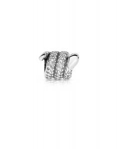 Bijuterie Argint Beads PLW47-RH-WH