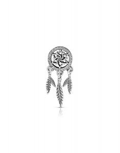 Bijuterie Argint Beads PLW48-RH-WH
