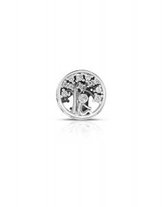 Bijuterie Argint Beads PLW49-RH-WH