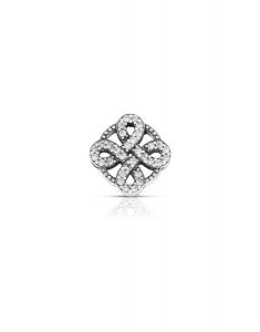 Bijuterie Argint Beads PLW51-RH-WH