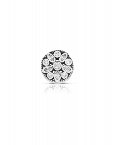 Bijuterie Argint Beads PLW52-RH-WH