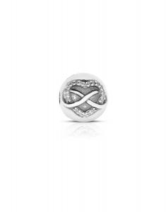 Bijuterie Argint Beads PLW53-RH-WH