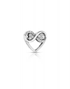 Bijuterie Argint Beads PLW54-RH-WH