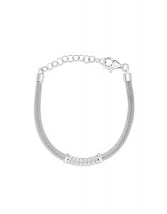 Bijuterie Argint Fashion BRC5217-RH-WH