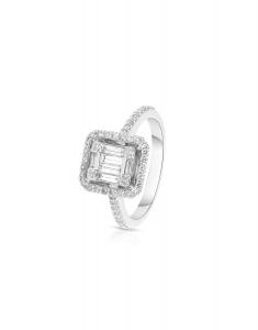 Bijuterie Aur Engagement RG097679-02-118-W