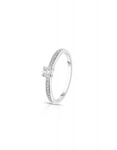 Bijuterie Aur Engagement R12010D-N-W