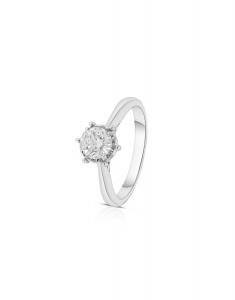 Bijuterie Aur Engagement PB2515-W-I