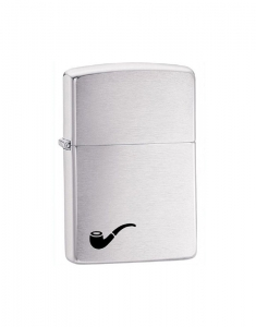 Zippo Pipe Brushed Chrome Pipe Lighter 200PL