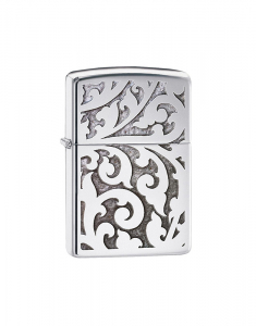 Zippo Executiv Filigree High Polish Chrome 28530