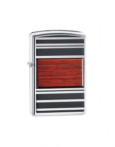 Zippo Steel and Wood Pipe Lighter 28676