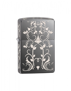 Zippo Executiv Black Ice Filligree Design 28833