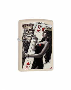 Zippo Special Edition Skull, King, Queen Beauty 29393