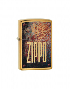 Zippo Special Edition Rusty Plate Design 29879