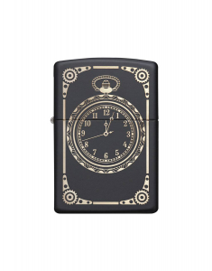 Zippo Classic All Over Clock and Mechanism 218.MP401619