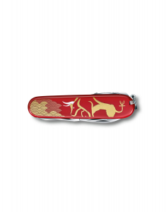 Briceag Victorinox Swiss Army Knvies Huntsman Year of the Ox 2021 1.3714.E10