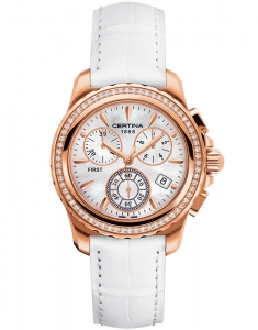 Certina DS First Lady Chrono Gold C900.217.76.117.00