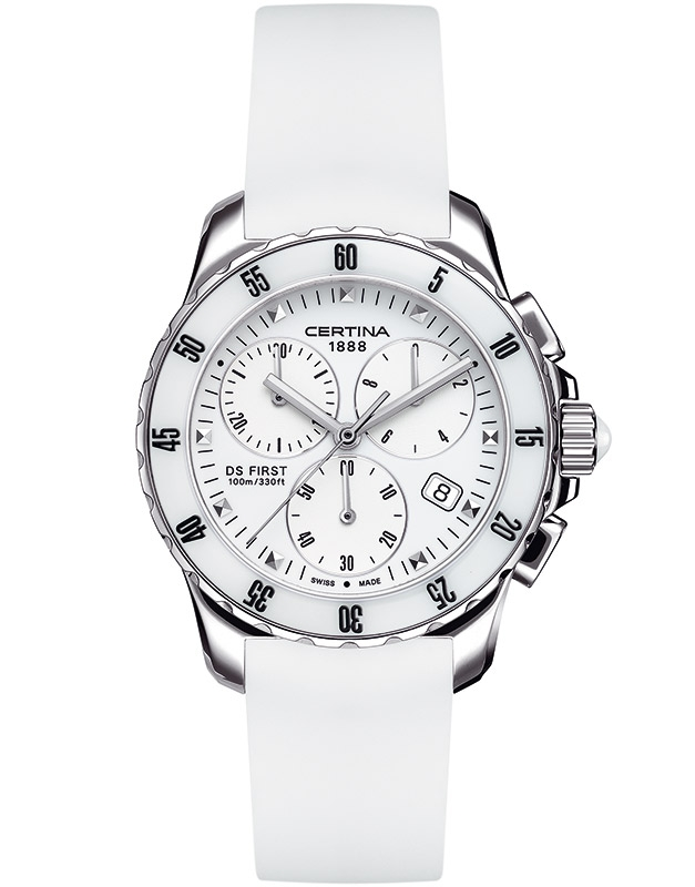 Certina DS First Lady Ceramic Chrono C014.217.17.011.00