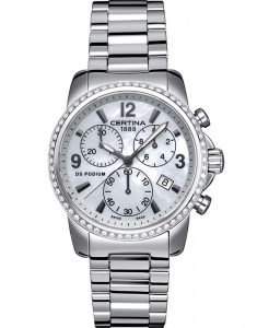 Certina DS Podium Lady Chrono Diamonds C001.217.11.117.10