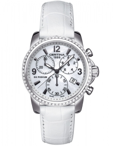 Certina DS Podium Lady Chrono Diamonds C001.217.16.117.10
