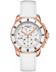 Certina DS First Lady Ceramic Chrono C014.217.36.011.00