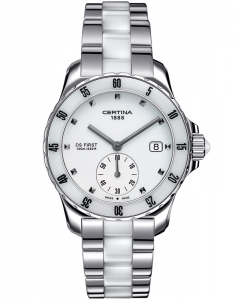 Certina DS First Lady Ceramic C014.235.11.011.01