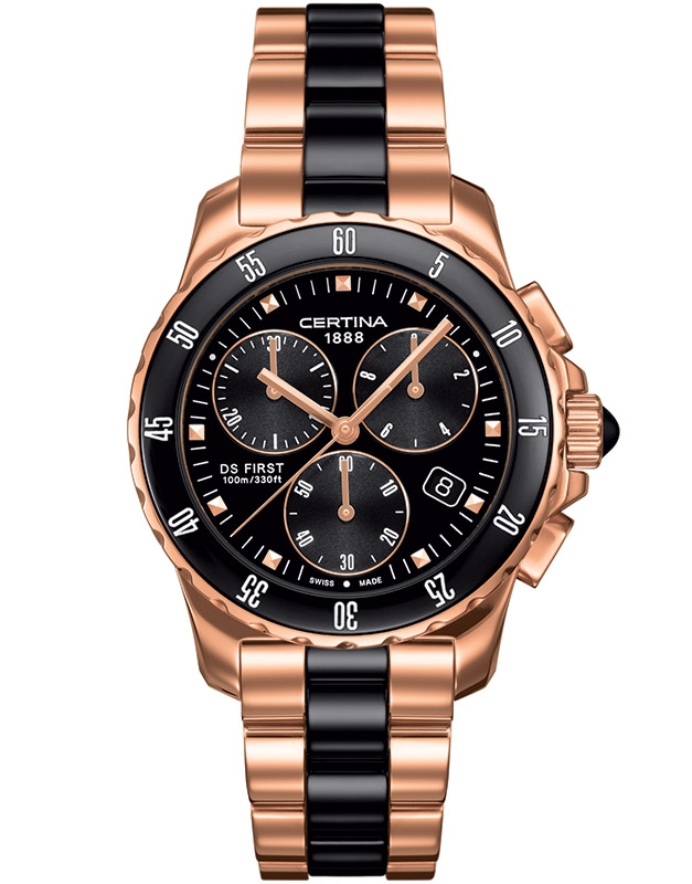 Certina First Lady Ceramic Chrono C014.217.33.051.00