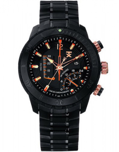 TX 800 Series Linear Chronograph Dual-Time Zone T3C310